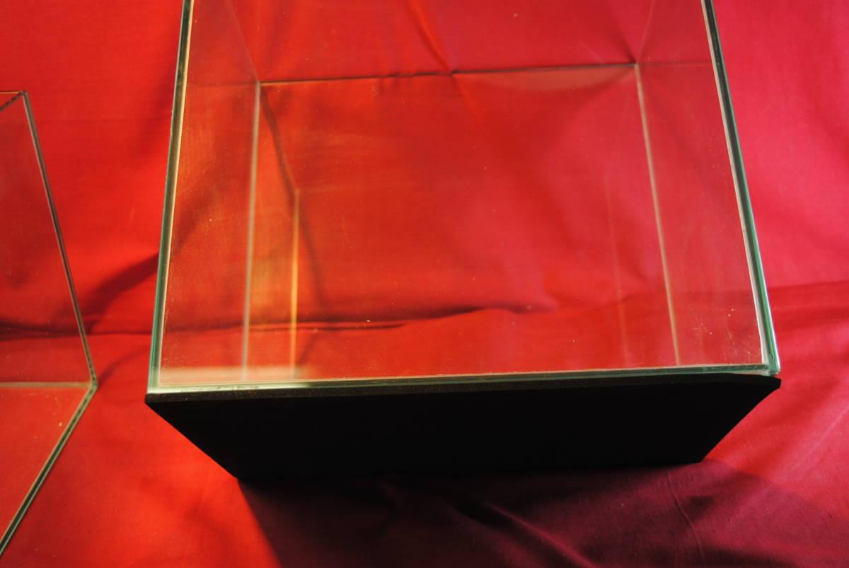 D361.【2点セット】水槽◇ガラス製◇ガラス水槽◇観賞魚◇めだか◇熱帯魚◇金魚◇アクアリウム◇インテリア_画像7