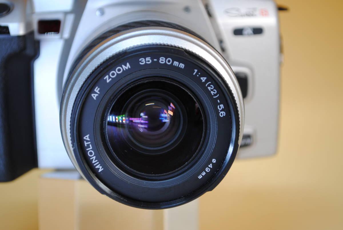 D796.MINOLTA◇α-sweet s◇一眼レフカメラ◇フィルムカメラ◇35~80mm◇レンズカバー付き◇ミノルタ【美品】_画像5