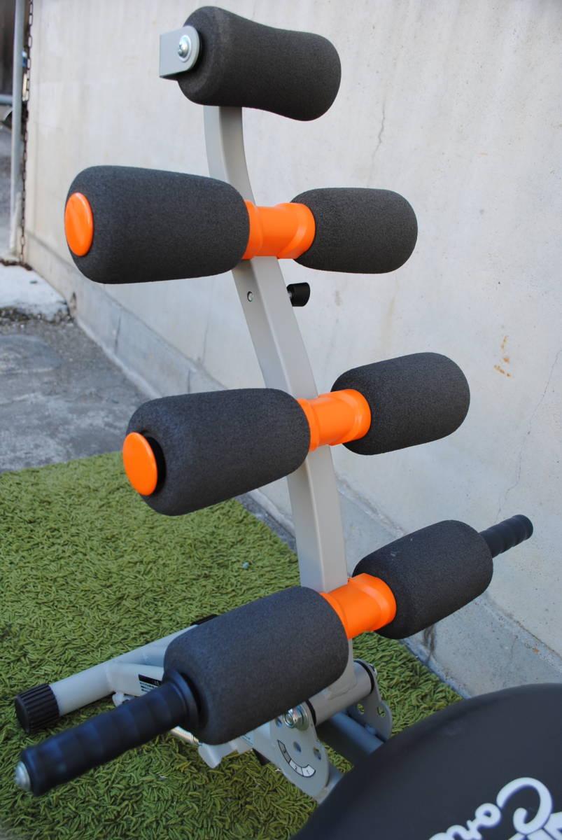 D728.ワンダーコア/オレンジ/トレーニング/筋トレ/腹筋/エクササイズ/1台で6種類の腹筋運動/クランチ/ツイスト/ストレッチ/タック等_画像10