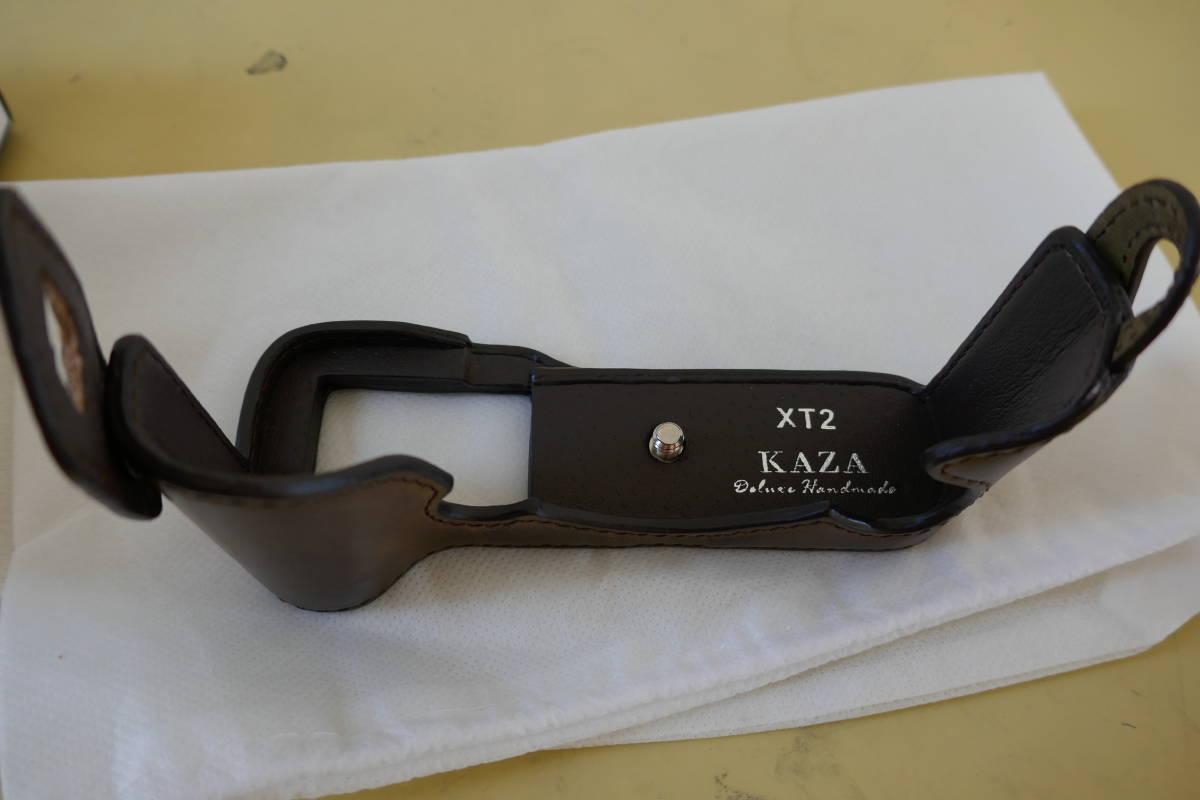 富士フィルム X-T2用 KAZA レザーボディーケース 中古品_画像4