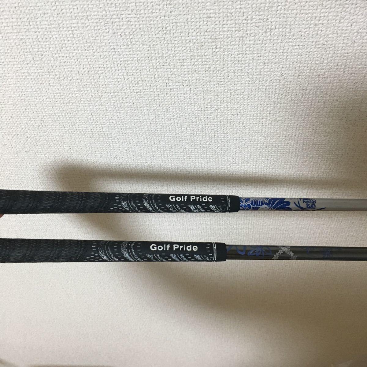 ★激レア!P-TUNE ピーチューン 3.5w 二本セット ディアマナ 60x 70x シャフト入り★_画像8