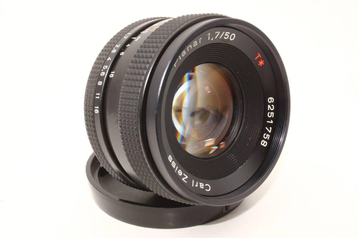 【極上】コンタックス プラナー 50mm F1.7 T* AEJ CONTAX Carl Zeiss Planar レンズ[6251758]_画像2