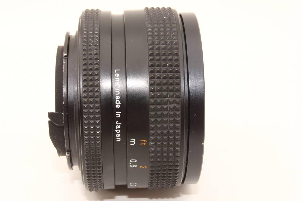 【極上】コンタックス プラナー 50mm F1.7 T* AEJ CONTAX Carl Zeiss Planar レンズ[6251758]_画像6