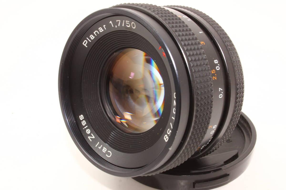 【極上】コンタックス プラナー 50mm F1.7 T* AEJ CONTAX Carl Zeiss Planar レンズ[6251758]