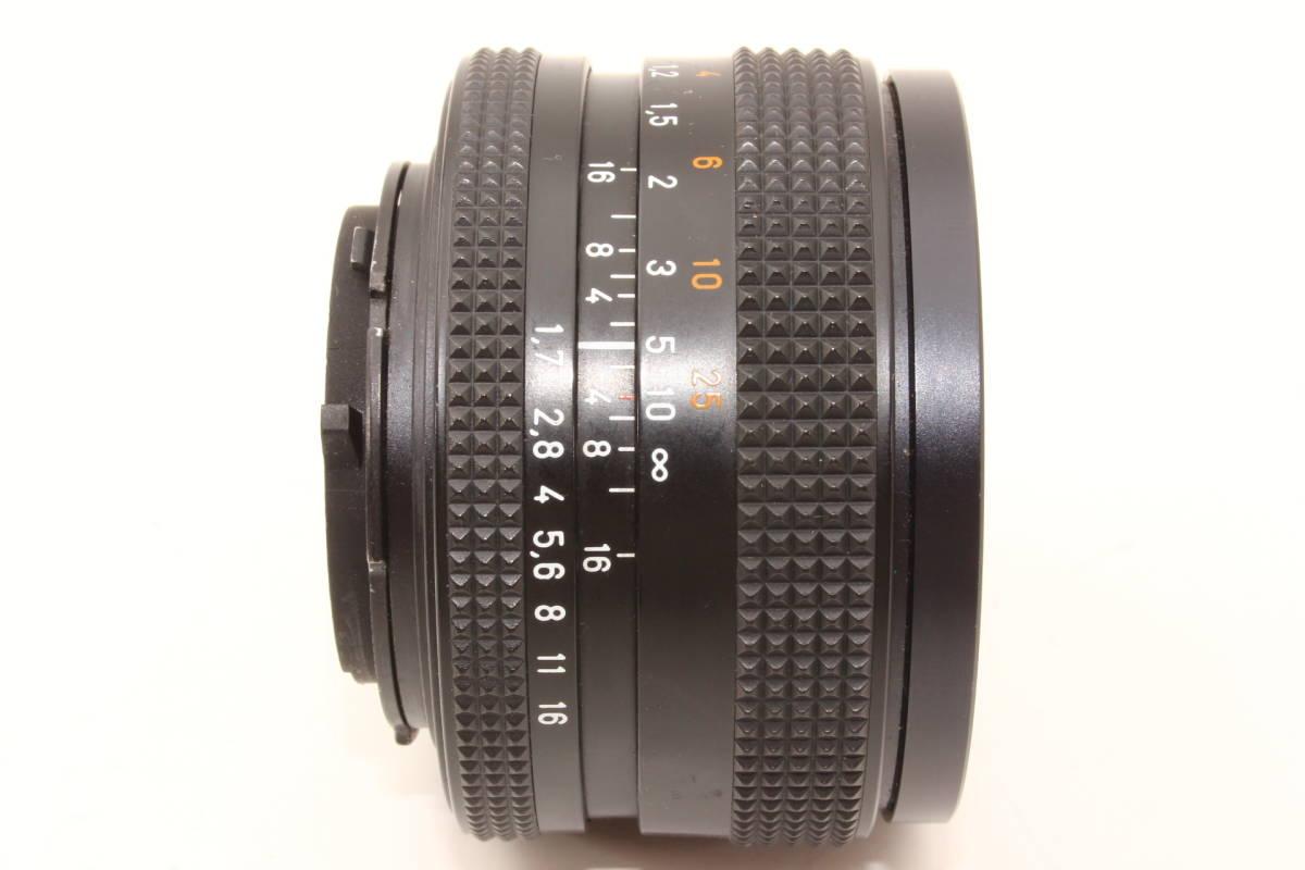 【極上】コンタックス プラナー 50mm F1.7 T* AEJ CONTAX Carl Zeiss Planar レンズ[6251758]_画像5