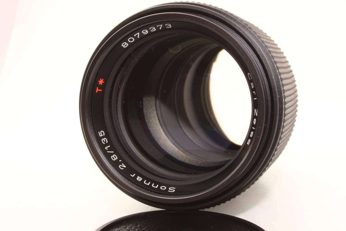 【極上】コンタックス ゾナー 135mm F2.8 T* MMJ CONTAX Carl Zeiss Sonnar レンズ[8079373]_画像3