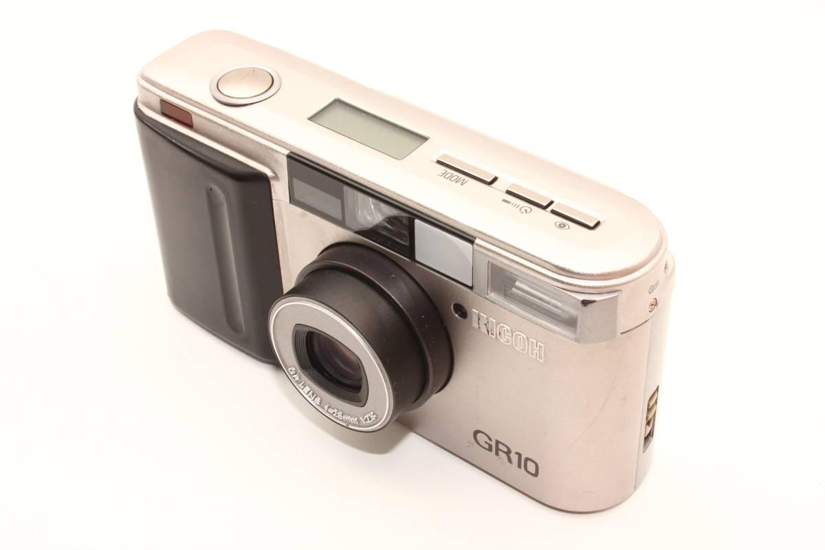 【美品】リコー RICOH ボディ GR10 [PK108076] レンズ GR LENS F2.8 28mm