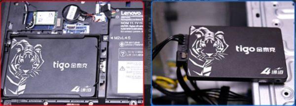 ■新品!!国内対応&90日保証■ 【2019最新型】 tigo SSD 120GB SATA3/6.0Gbps 2.5インチ 3D 高速 NAND TLC 内蔵型 S320 PC ノートPC DE009_画像4