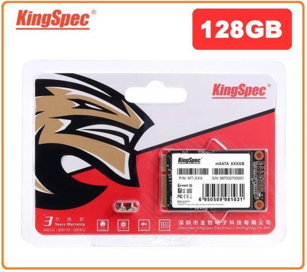 ■新品!!国内対応&90日保証■KingSpec SSD mSATA 128GB 内蔵型 MT-128 3D 高速 3D NAND TLC デスクトップPC ノートパソコン DE021_画像1