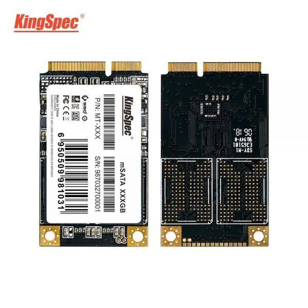■新品!!国内対応&90日保証■KingSpec SSD mSATA 128GB 内蔵型 MT-128 3D 高速 3D NAND TLC デスクトップPC ノートパソコン DE021_画像3