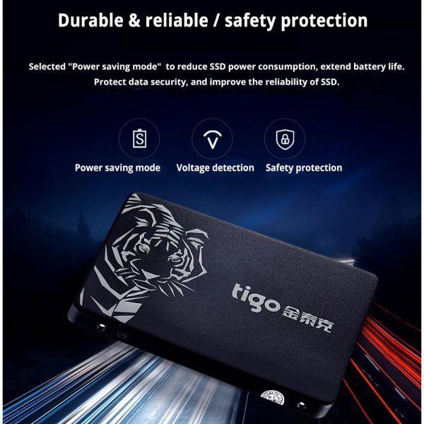 ■新品!!国内対応&90日保証■ 【2019最新型】 tigo SSD 480GB SATA3/6.0Gbps 2.5インチ 3D 高速 NAND TLC 内蔵型 S300 PC ノートPC DE010_画像4
