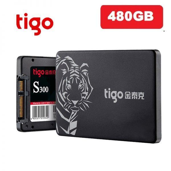 ■新品!!国内対応&90日保証■ 【2019最新型】 tigo SSD 480GB SATA3/6.0Gbps 2.5インチ 3D 高速 NAND TLC 内蔵型 S300 PC ノートPC DE010_画像1