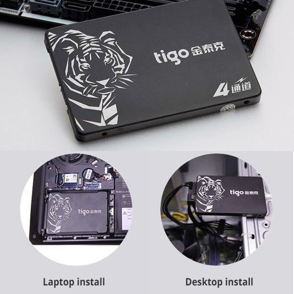 ■新品!!国内対応&90日保証■ 【2019最新型】 tigo SSD 480GB SATA3/6.0Gbps 2.5インチ 3D 高速 NAND TLC 内蔵型 S300 PC ノートPC DE010_画像6