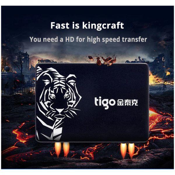 ■新品!!国内対応&90日保証■ 【2019最新型】 tigo SSD 480GB SATA3/6.0Gbps 2.5インチ 3D 高速 NAND TLC 内蔵型 S300 PC ノートPC DE010_画像3