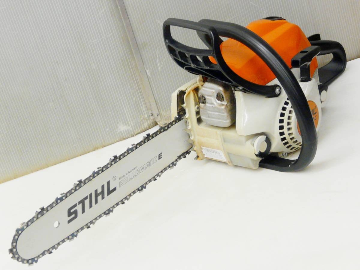 STIHL / スチール 35.2cc カジュアルソー上位機 薪づくりに最適 MS211C-BE_画像2