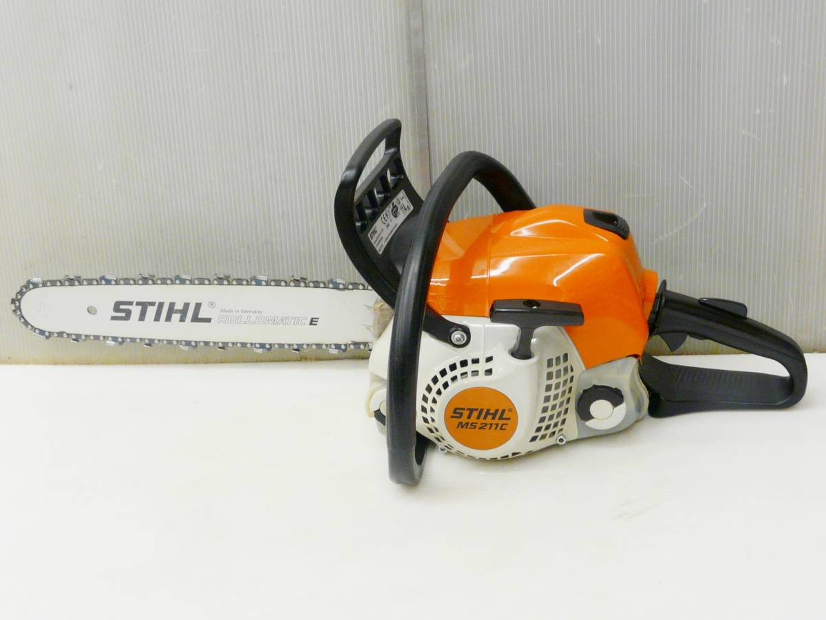 STIHL / スチール 35.2cc カジュアルソー上位機 薪づくりに最適 MS211C-BE_画像6