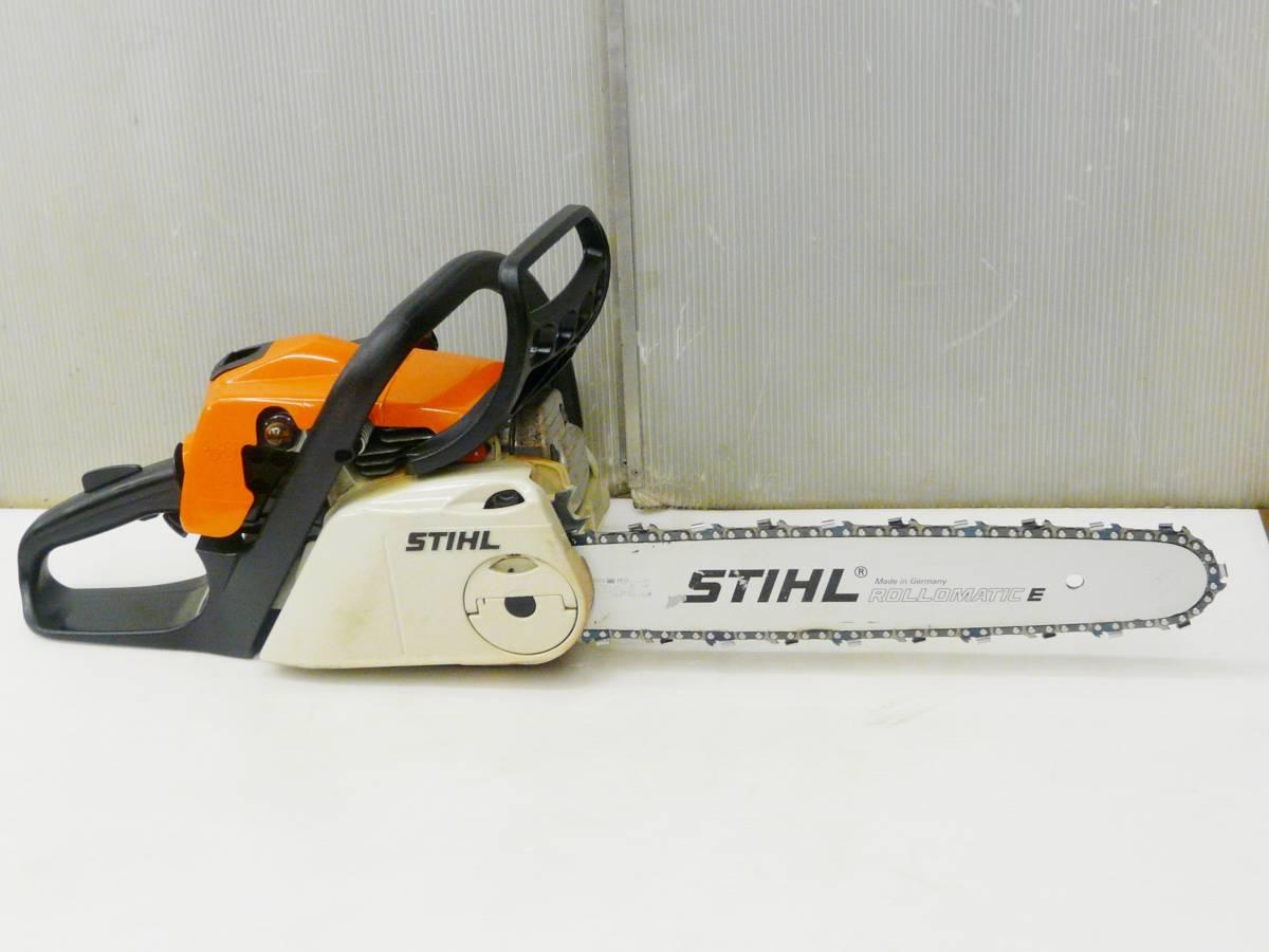 STIHL / スチール 35.2cc カジュアルソー上位機 薪づくりに最適 MS211C-BE_画像7