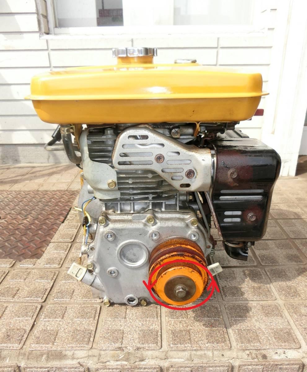 1,000円から♪ 整備済♪ Robin / ロビン 6馬力 4サイクルガソリンエンジン EY-17_画像2