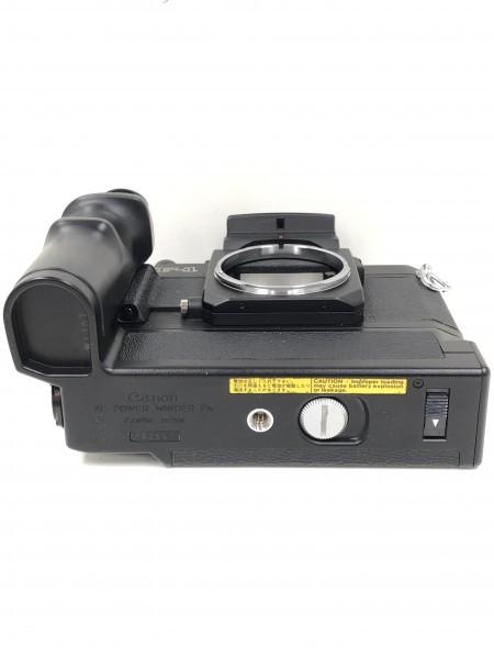 ○ Canon キャノン F-1 ブラックボディ 本体_画像4