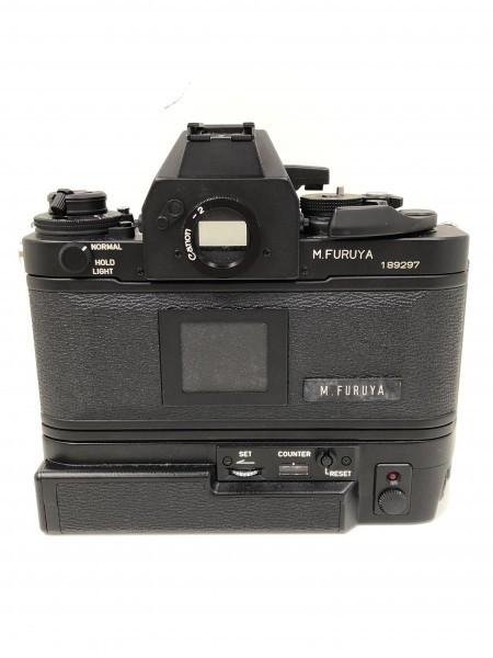 ○ Canon キャノン F-1 ブラックボディ 本体_画像5