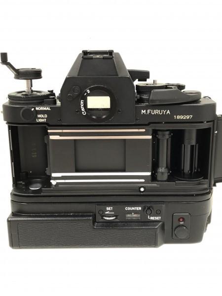 ○ Canon キャノン F-1 ブラックボディ 本体_画像6