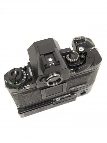 ○ Canon キャノン F-1 ブラックボディ 本体_画像3