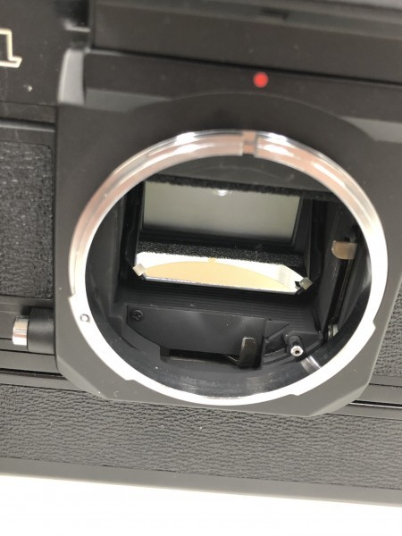 ○ Canon キャノン F-1 ブラックボディ 本体_画像2