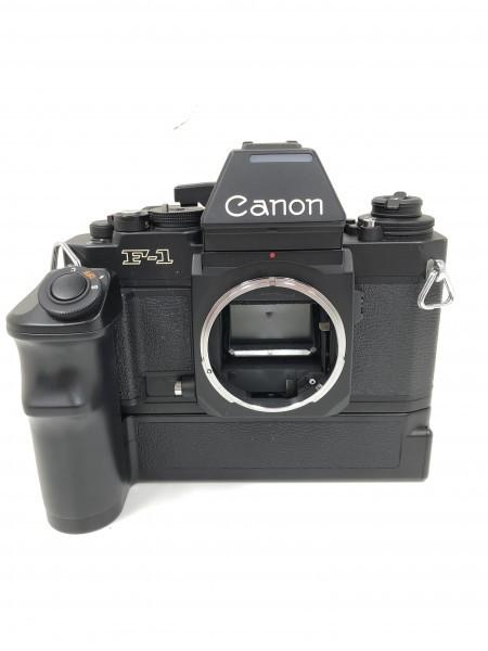 ○ Canon キャノン F-1 ブラックボディ 本体
