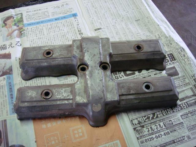 国内 CBR400F エンジン ヘッドカバー 1型 当時物 CBX400F CBX550F_画像2