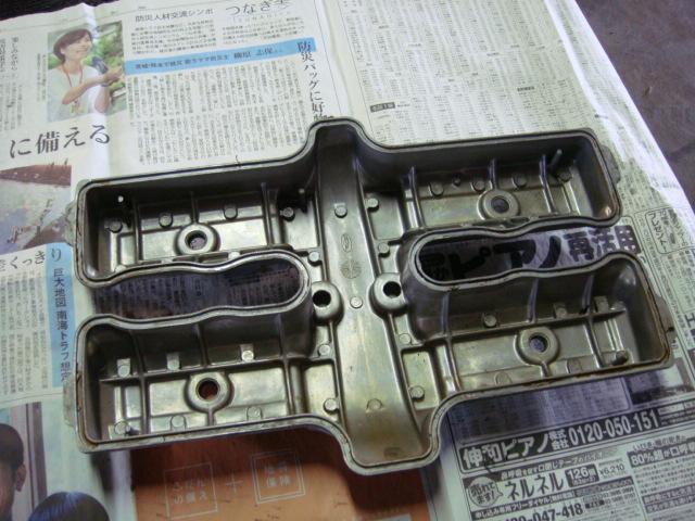 国内 CBR400F エンジン ヘッドカバー 1型 当時物 CBX400F CBX550F_画像3