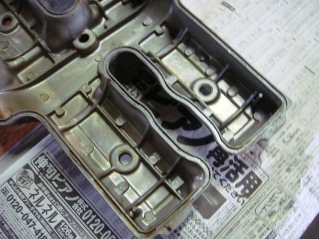 国内 CBR400F エンジン ヘッドカバー 1型 当時物 CBX400F CBX550F_画像5