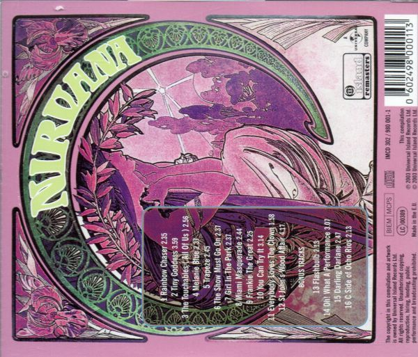 ポップサイケ/ソフトロック/Nirvana/All Of Us/CD_画像2