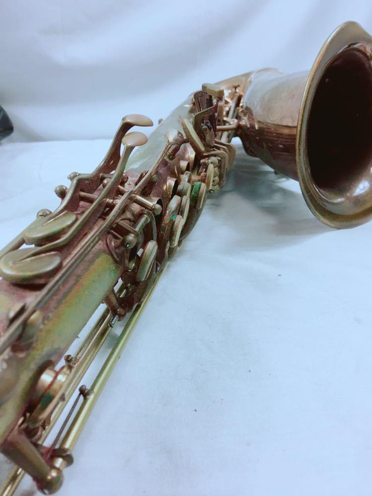 MU153 ★ HENRI SELMER セルマー マークⅥ マーク6 テナーサックス MARK VI 付属品有り アンティーク 楽器 管楽器 ジャンク 1円~_画像4