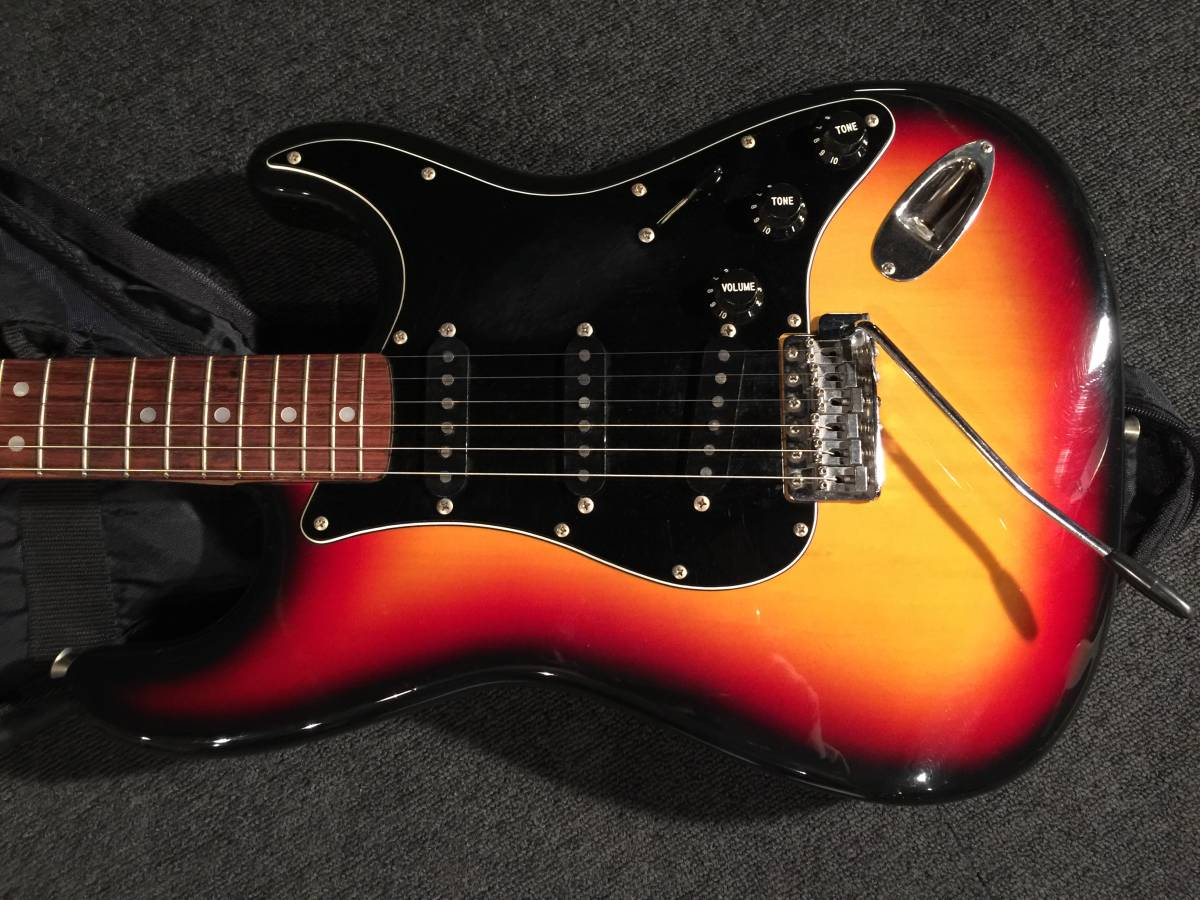 FenderJapan ST72US 3TS/R MADE IN JAPAN No.040719_画像2