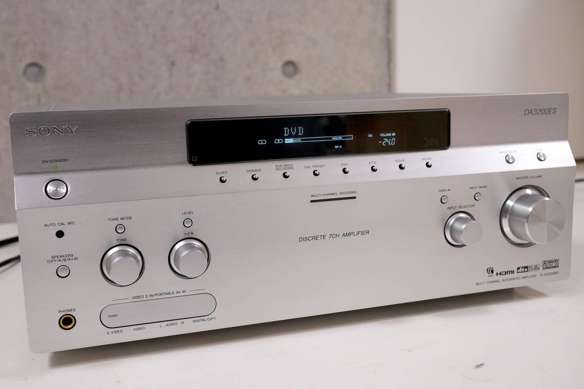 SONY TA-DA3200ES マルチチャンネルインテグレートアンプ_画像3