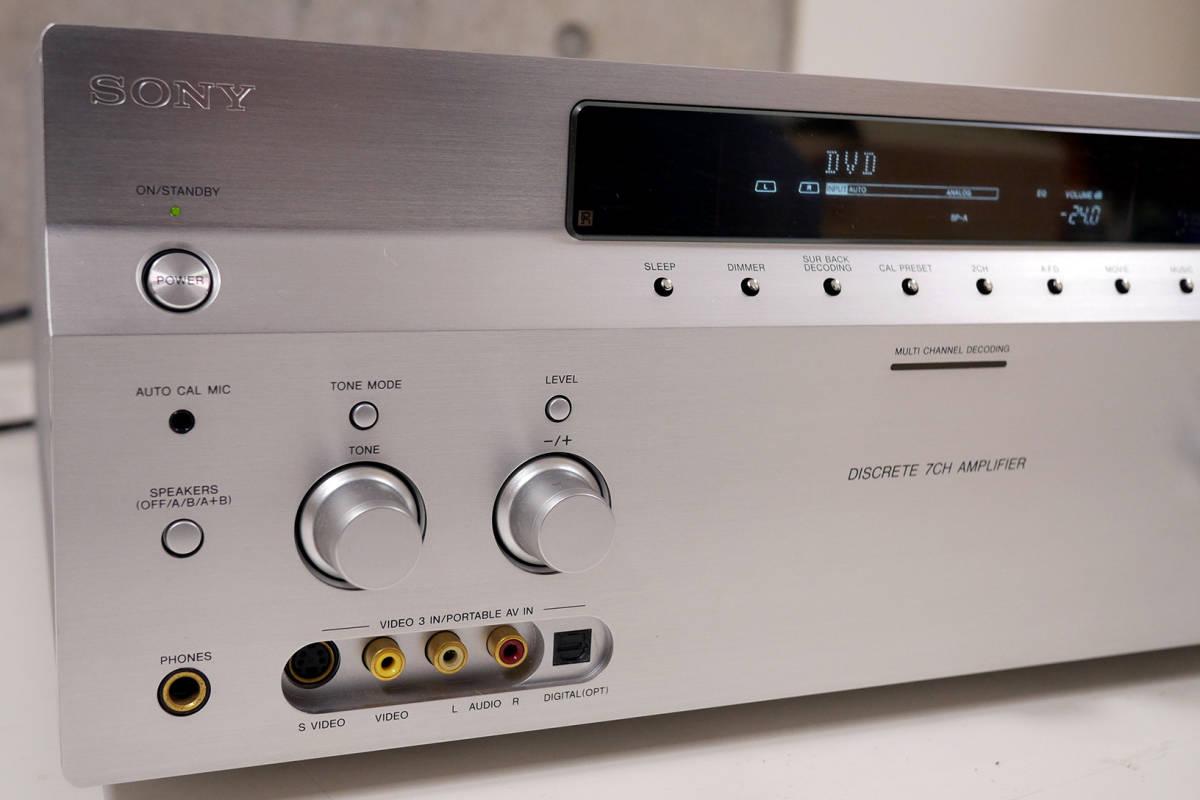 SONY TA-DA3200ES マルチチャンネルインテグレートアンプ_画像4