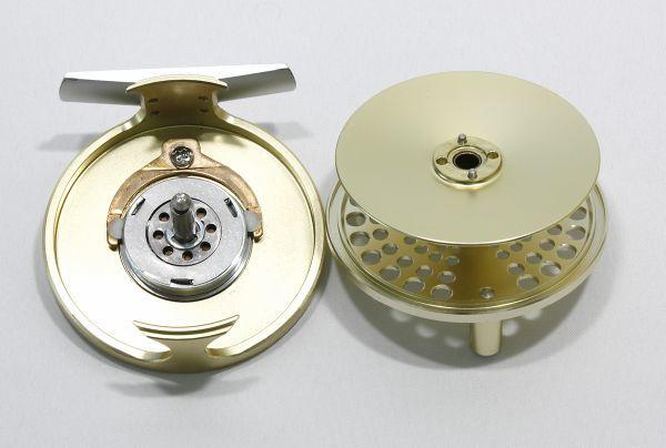 ■マリエット MR7.5A スペアスプール付き ゴールド 軽量良品 内部極美 MARRYAT_画像5