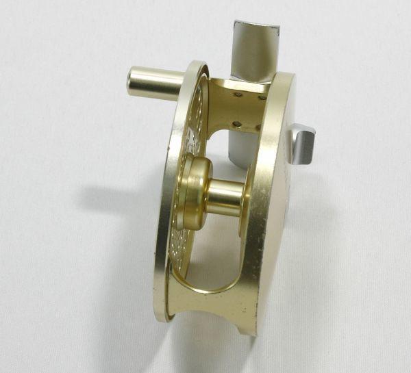 ■マリエット MR7.5A スペアスプール付き ゴールド 軽量良品 内部極美 MARRYAT_画像4