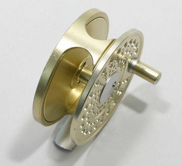 ■マリエット MR7.5A スペアスプール付き ゴールド 軽量良品 内部極美 MARRYAT_画像3