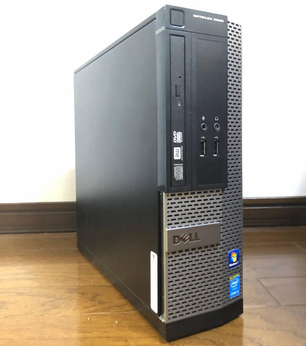 ●超高速小型PC●新品SSD1TB(1000GB)●i7-4790(4.0Gx8)●メモリ16GB●無線LAN(Wi-Fi)●USB3.0●2画面●静音●Win10●MS Office Pro 2019●_画像3