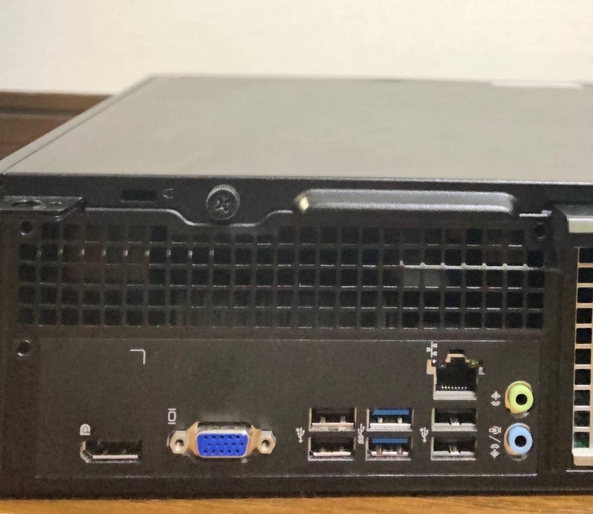 ●超高速小型PC●新品SSD1TB(1000GB)●i7-4790(4.0Gx8)●メモリ16GB●無線LAN(Wi-Fi)●USB3.0●2画面●静音●Win10●MS Office Pro 2019●_画像5