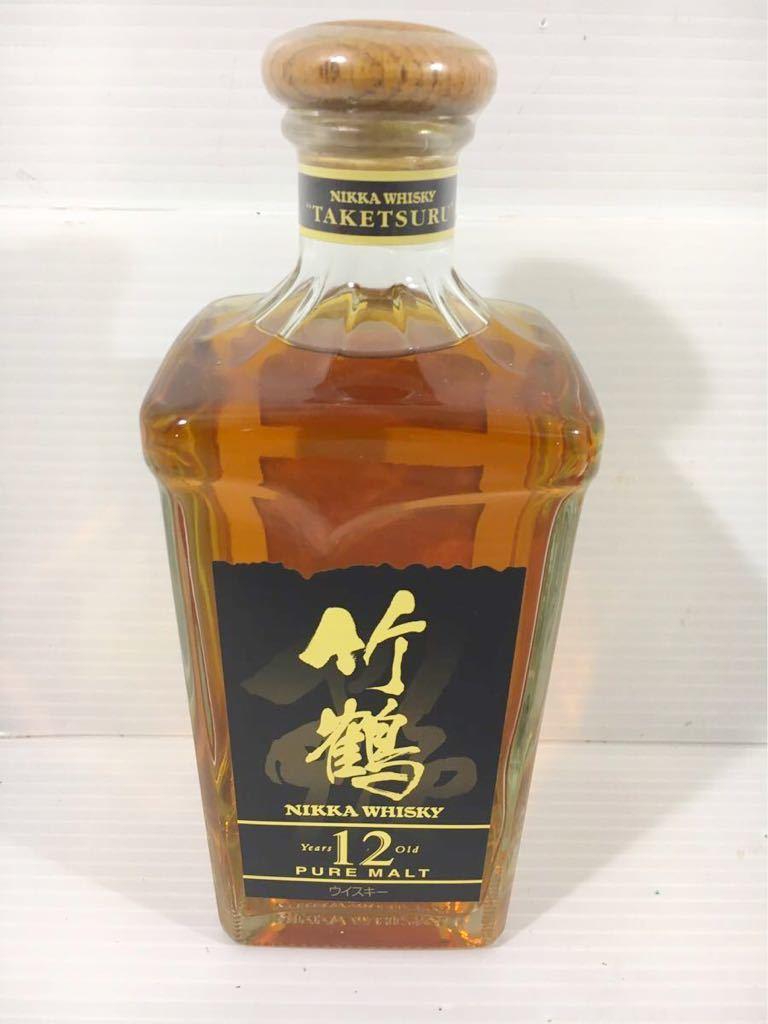 1円★ 未開栓 竹鶴12年 ピュア モルト 660ml40% ニッカウイスキー