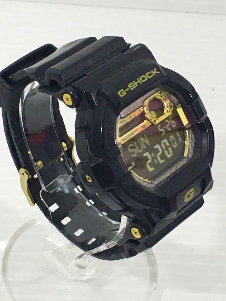 1円★CASIO カシオ G-SHOCK メンズ腕時計 GD-350BR 箱入 中古 稼働中 _画像2