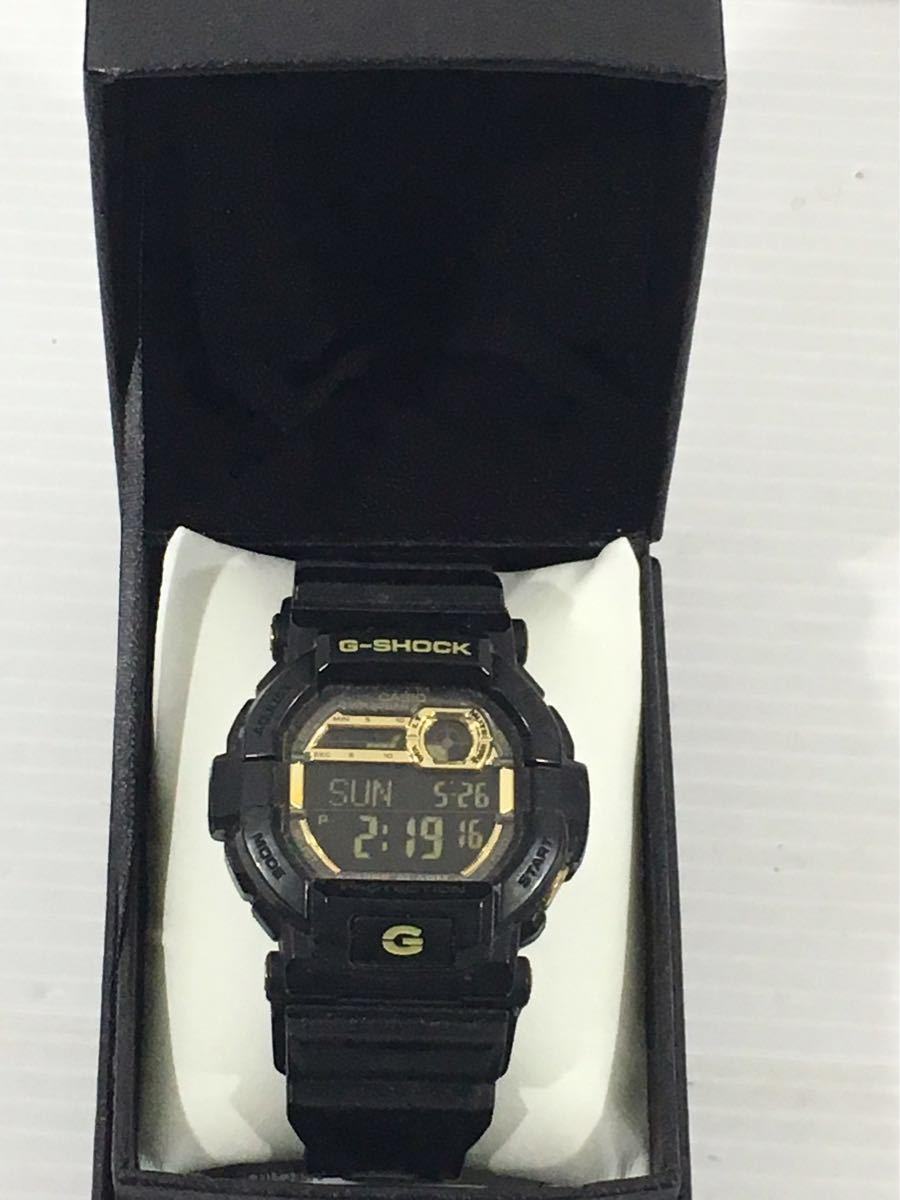 1円★CASIO カシオ G-SHOCK メンズ腕時計 GD-350BR 箱入 中古 稼働中 _画像4
