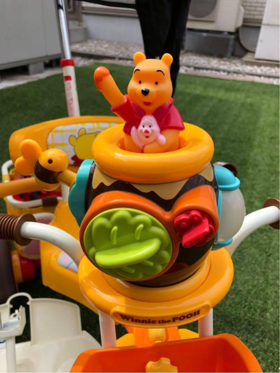 アイデス ポップンカーゴ三輪車 くまのプーさん_画像4