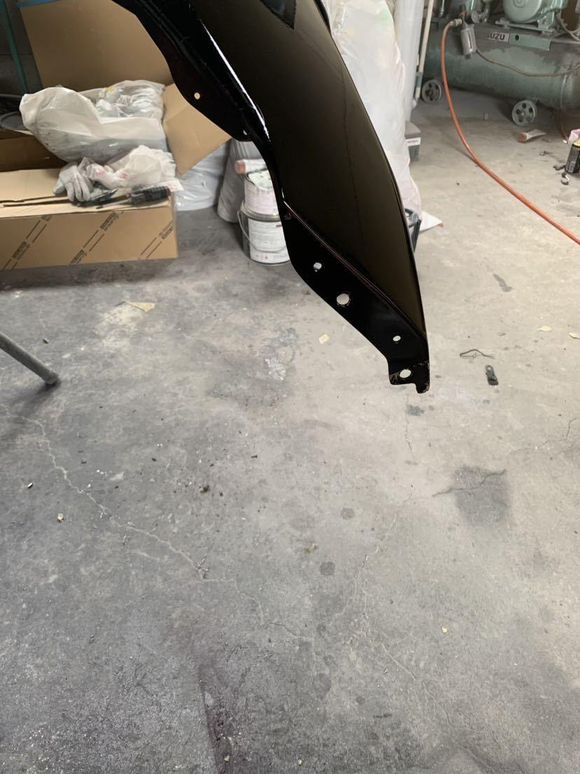 塗装屋だから色変えサービス 塗装後未使用 Z33 フェアレディZ BOMEX FB-02フロントバンパー フォグ付 定価塗装済み約10万 ドリフト _画像4