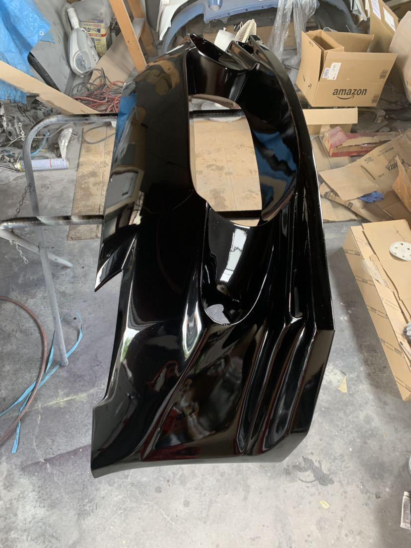 塗装屋だから色変えサービス 塗装後未使用 Z33 フェアレディZ BOMEX FB-02フロントバンパー フォグ付 定価塗装済み約10万 ドリフト