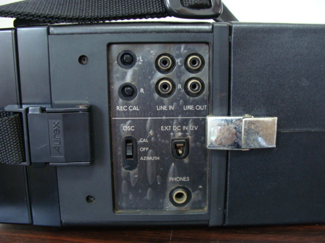 ☆★ Aurex オーレックス 3ヘッド可搬型カセットデッキ PC-4280 77円売り切り!!!_画像6