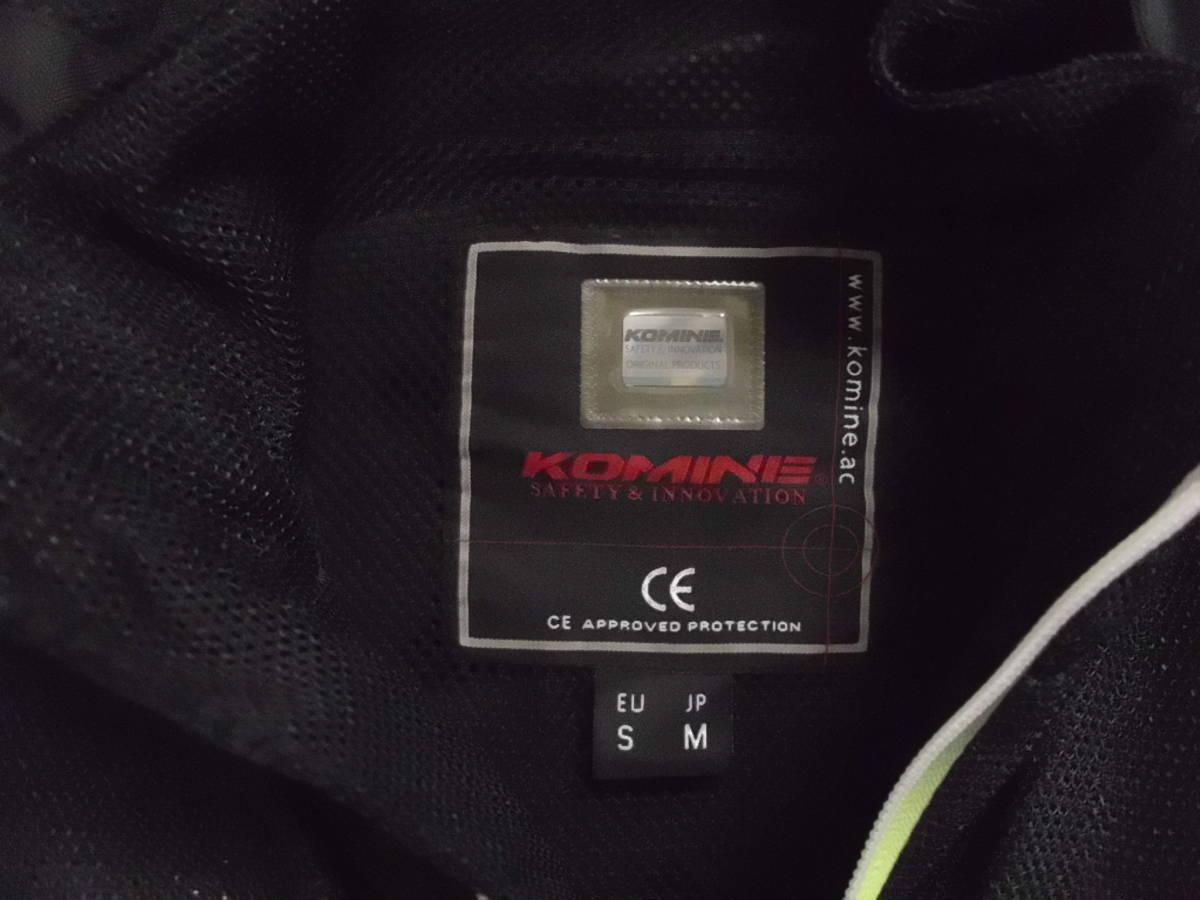 KOMINE(コミネ)JK-097 プロテクトライディングメッシュパーカ (サイズSM)_画像5