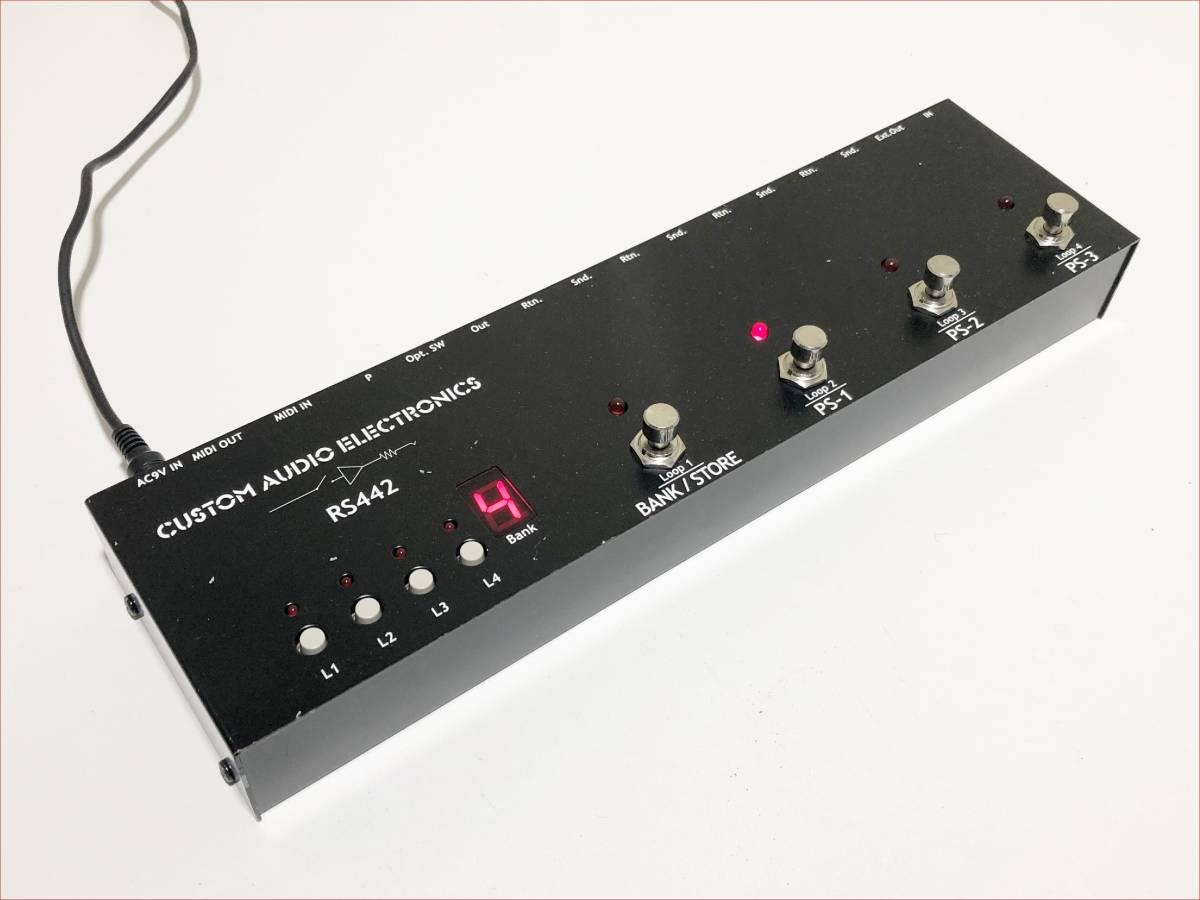 CAJ RS442 正常動作品 プログラムスイッチャー